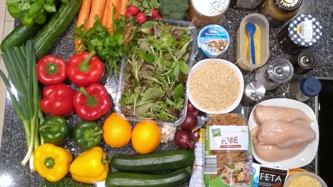 Meal Prep oder Zeit sparen beim Kochen
