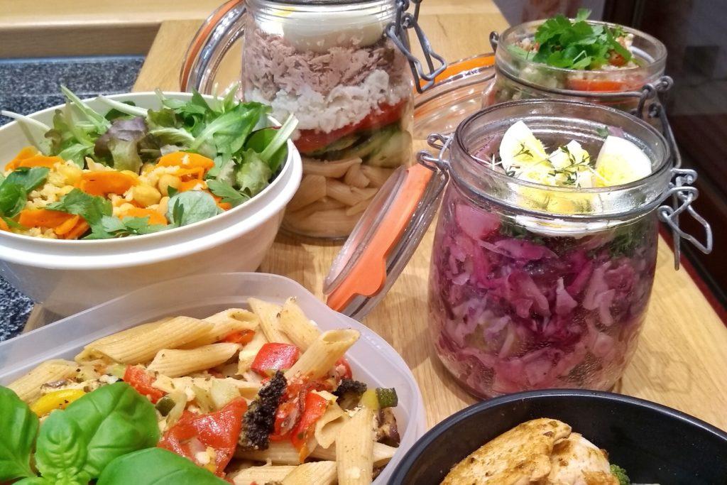 Meal Prepalle sechs Gerichte