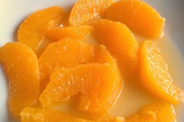 Orangen filetieren