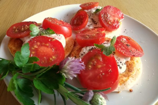 Herzhafte Pancakes, auch zum Frühstück